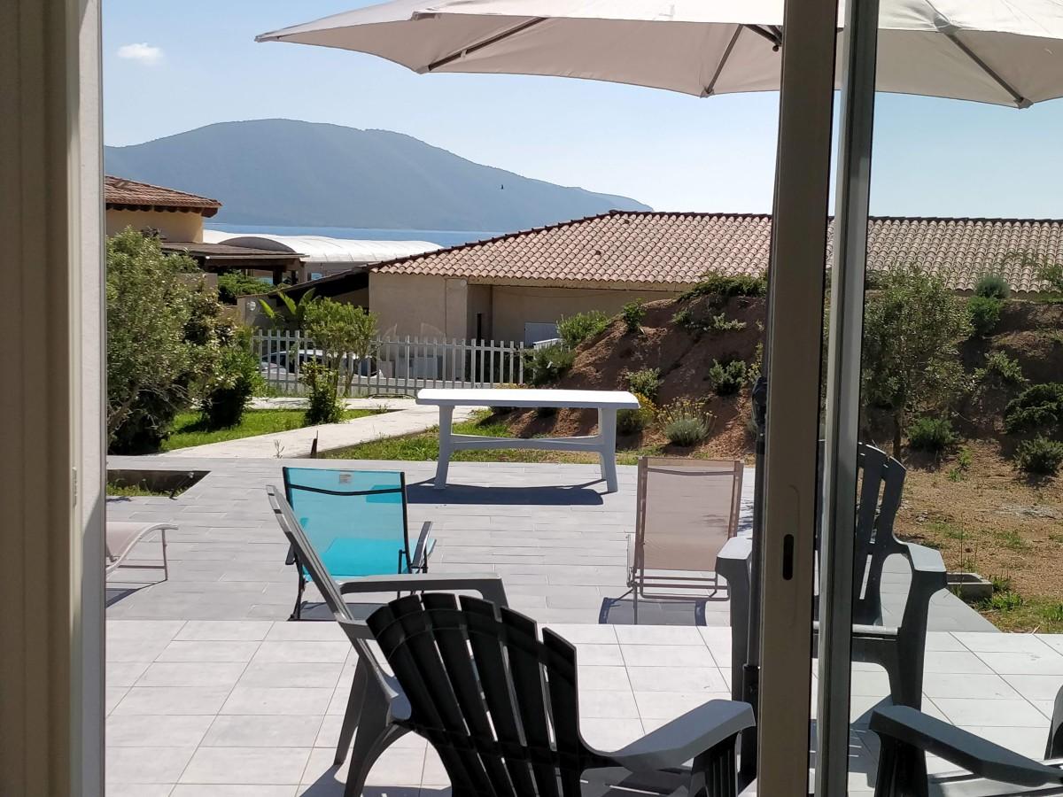 location villa lava ajaccio